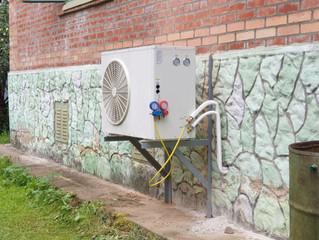 Начало монтажа новой системы отопления для дачного дома
