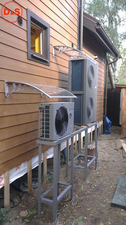 Система отопления на тепловых насосах в