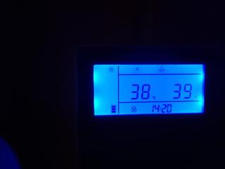 Управление тепловым насосом от термостата
