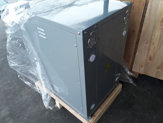 "Отгрузка теплового насоса на 20 кВт системы ""грунт-вода"" от DanHeat"