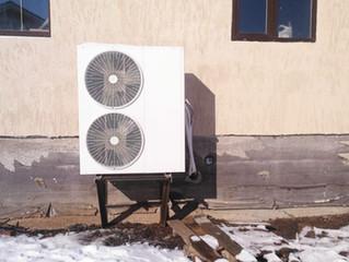 Новый тепловой насос в доме в Уфе