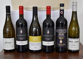 Item # 1 Basket of select wines reshot 2