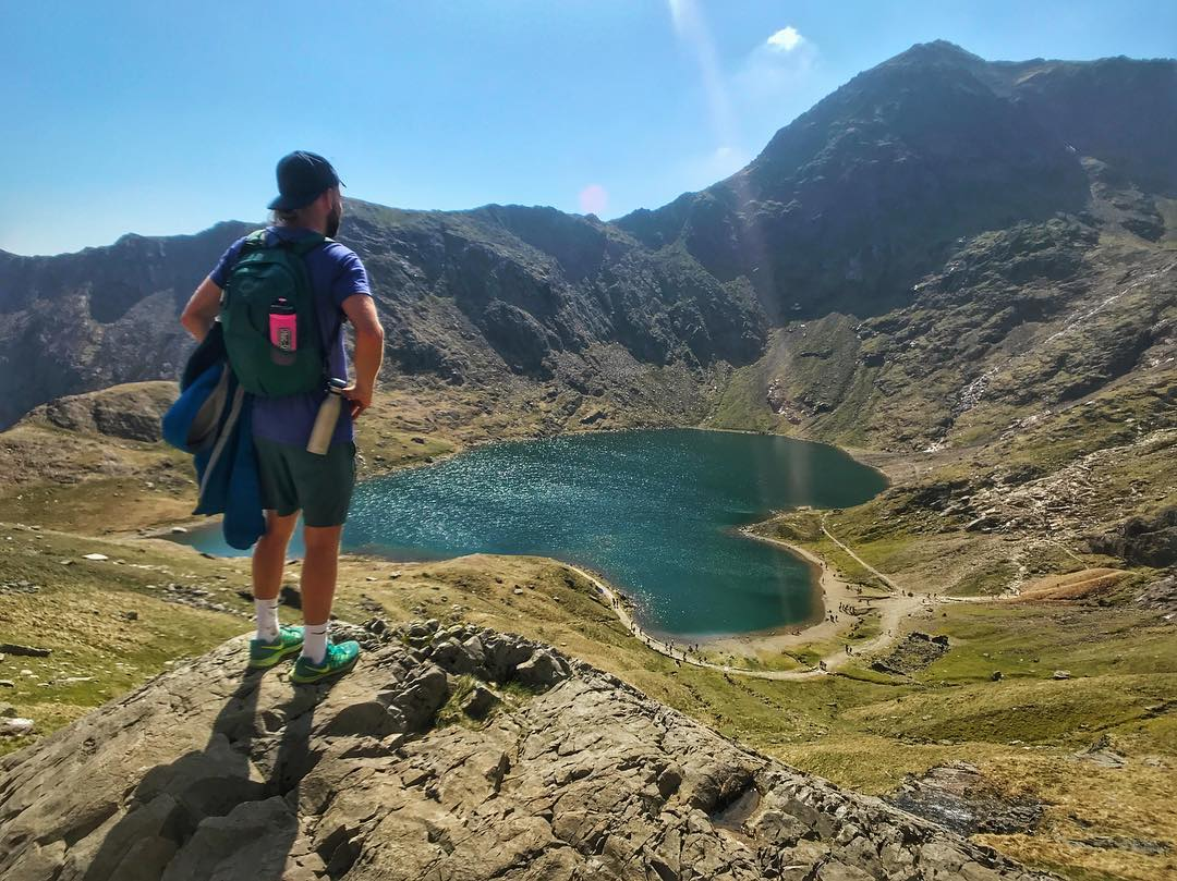 Looking back on Snowdon ⛰...