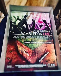 Wimbledon Live posters ready for...