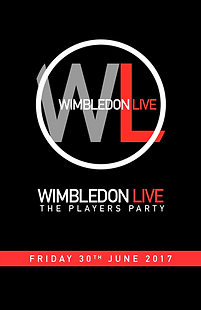 Wimbledon Live business card design...