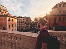 Looking over #piazzadispagna...