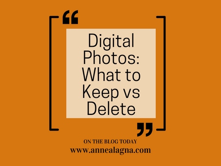 Digital Photos: What to Keep vs Delete