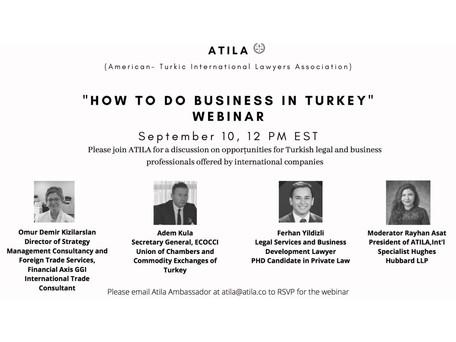How to Do Business in Turkey Webinar