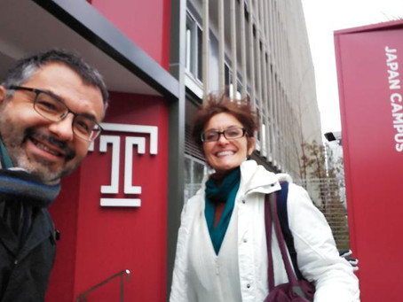 Started teaching at Temple University Japan Continuing Education Program