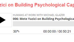 I was on Michael Glazer's Podcast