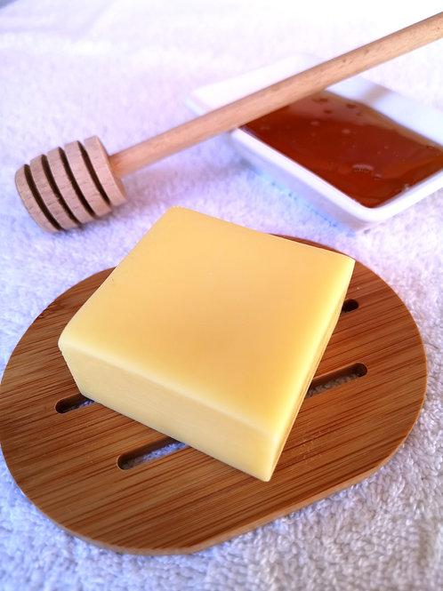Après-shampoing solide démêlant - miel