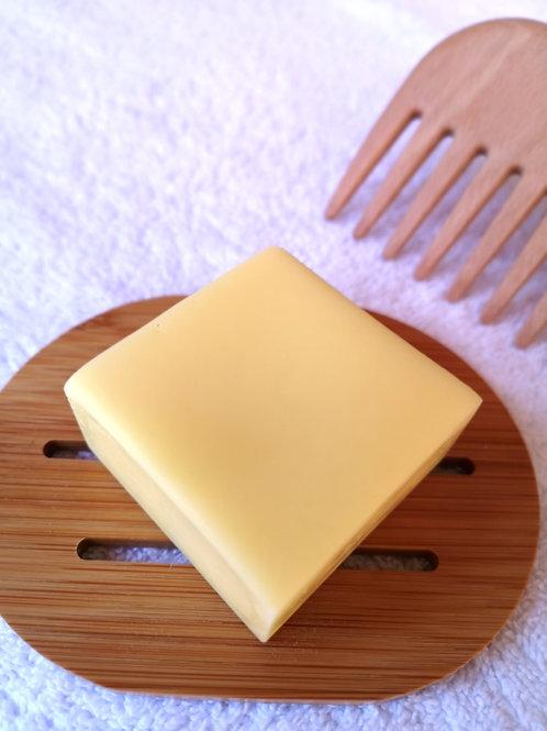 Après-shampoing solide démêlant - monoï