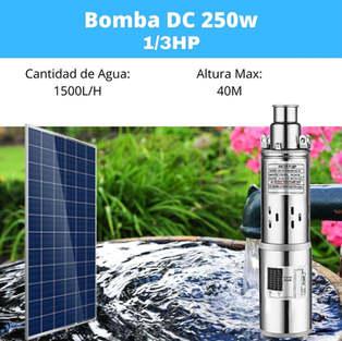 Bomba Solar 250w