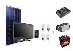 paneles solares con bateria