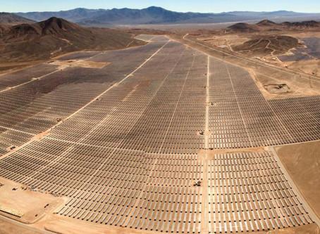 La energía solar fomenta la paz en el planeta