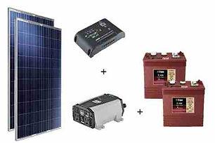 paneles solares con baterias