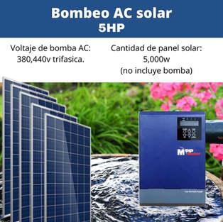 Bomba Solar 5hp