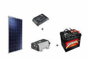 kit conexion con bateria