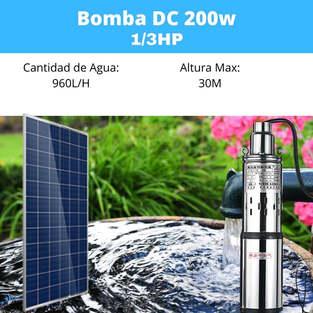 Bomba Solar 200w