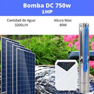 Bomba Solar 1hp