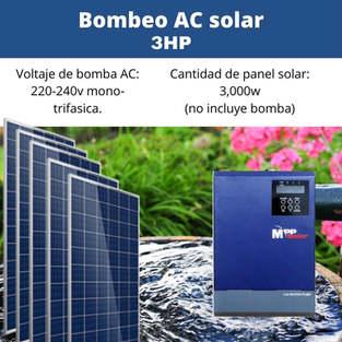 Bomba Solar 3hp
