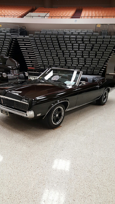 Bob Hendricks will be a the show with his 69 Convertible
