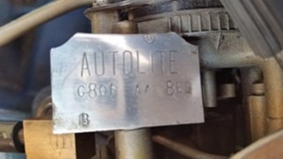 Original Carb Tag