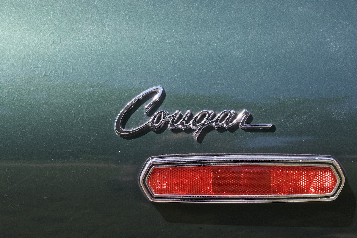 Original Rear quarter emblem