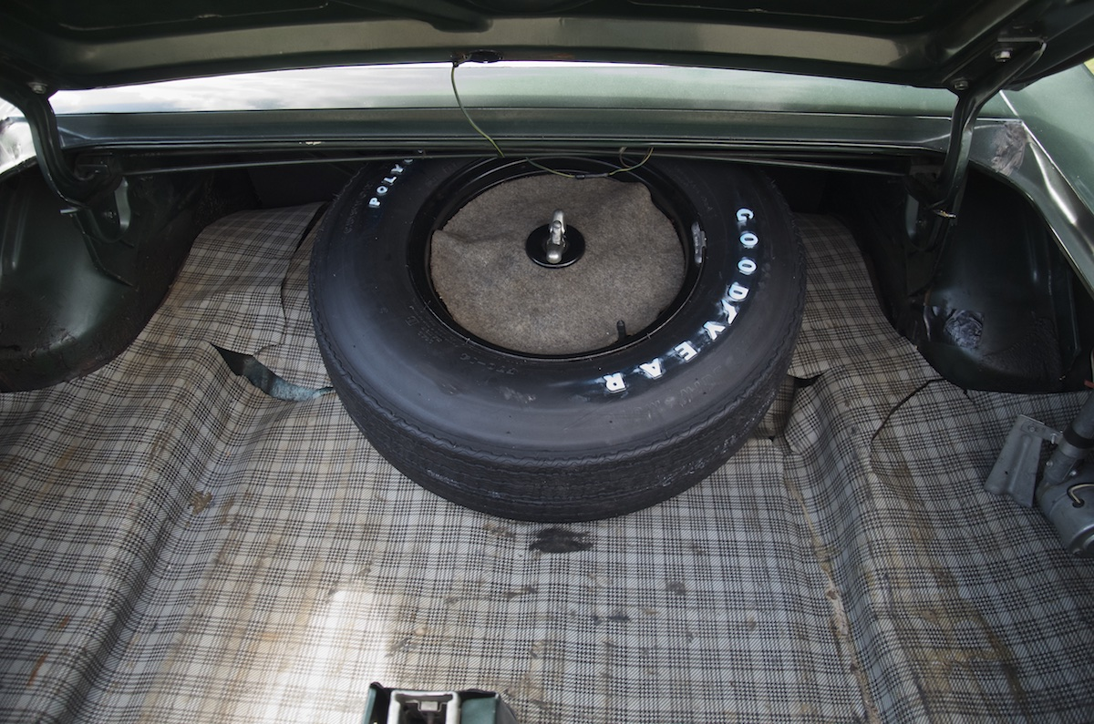Original Spare and trunk mat
