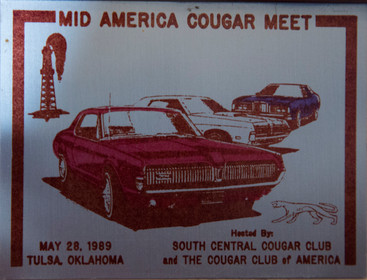 Where was your Cougar in 1989?