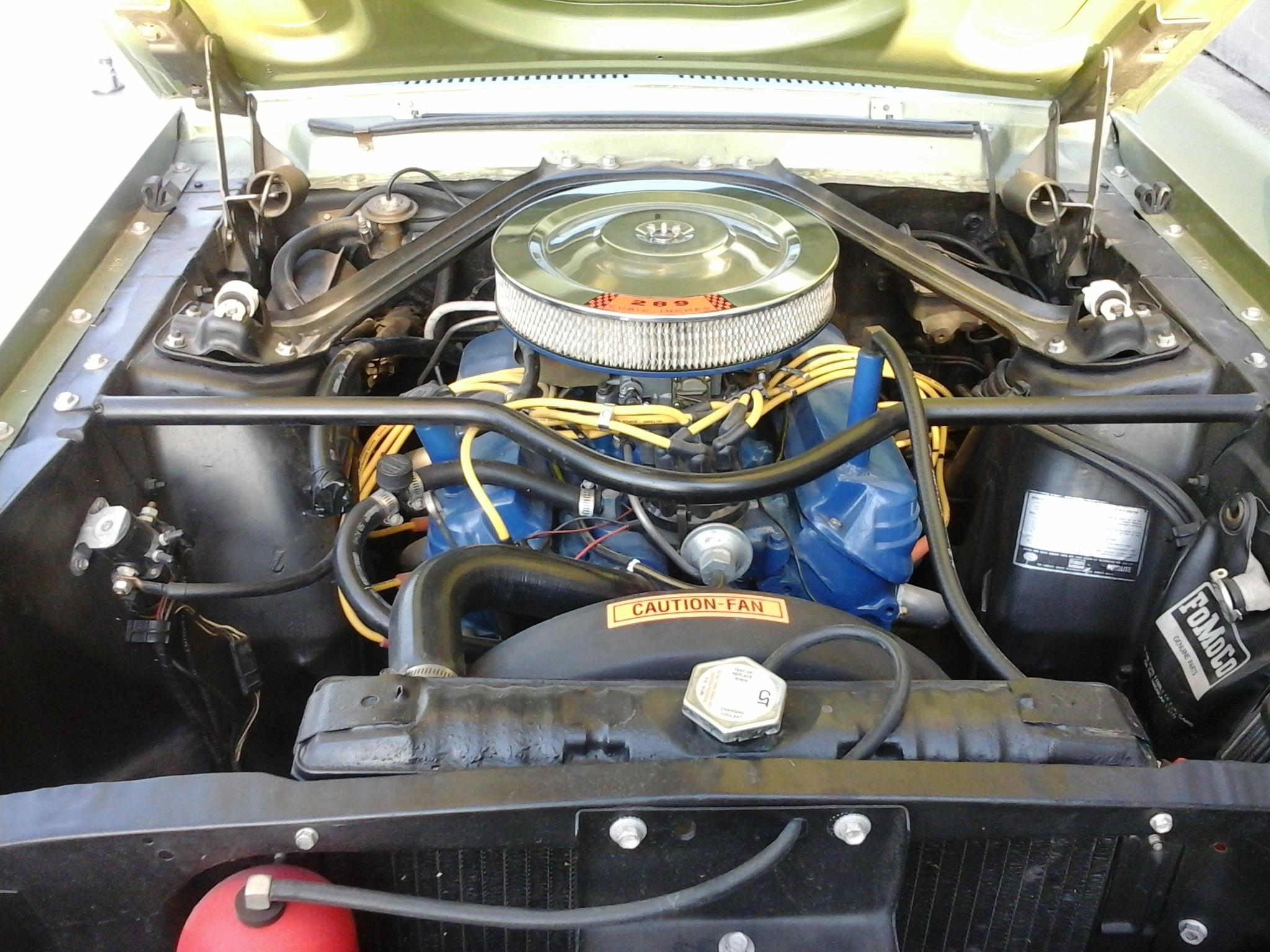 Kendall's 67 Motor