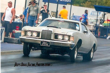 Leonard Cook Registers His 72 Cougar Drag Car!