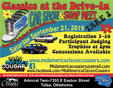 Classic's at the Drive in Car Show and Swap Meet