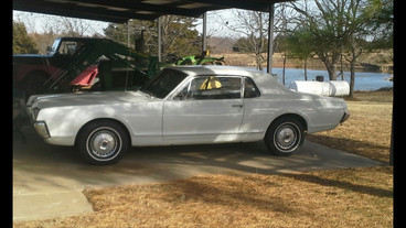 Donna Liddle registered her 67 Cougar for the show