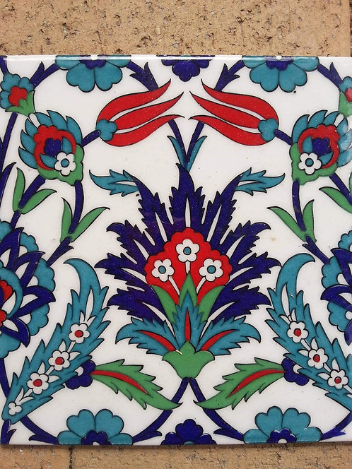 Lotus Turkish Tile 20cm x 20cm
