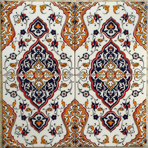 Tile 20x20cm Arabia Dark