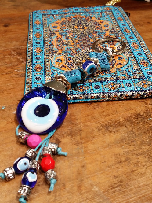 Lucky Eye Keyring and Coin Purse