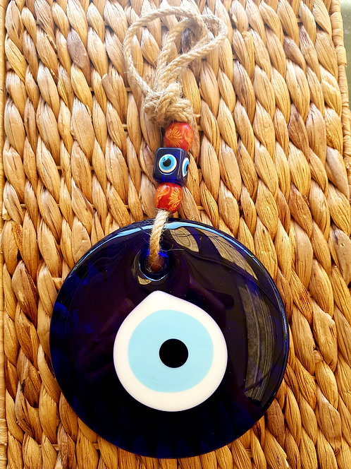 Lucky Eye XL Orange Bead