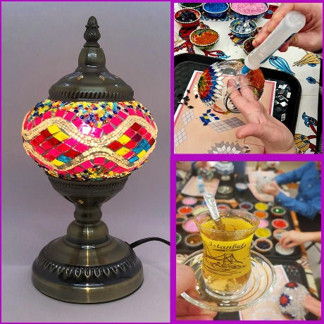 Make your OWN Mosaic Lamp Course