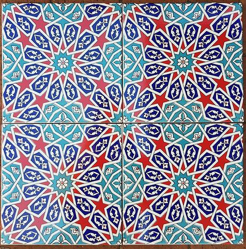 Tile - Morrocan Star 20x20
