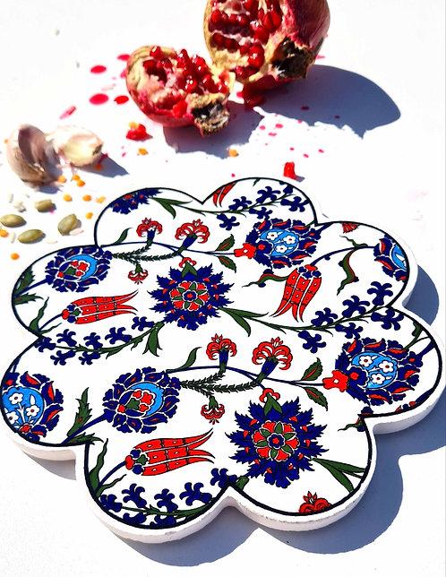 of Hot Pot Trivet Ceramic - Cennet Garden