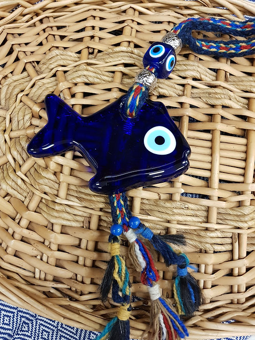 Lucky Eye Fish on Authentic Rope