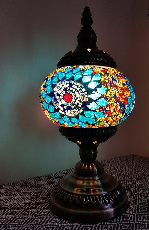 Turkish Morrocan Mosaic Stand Lamp