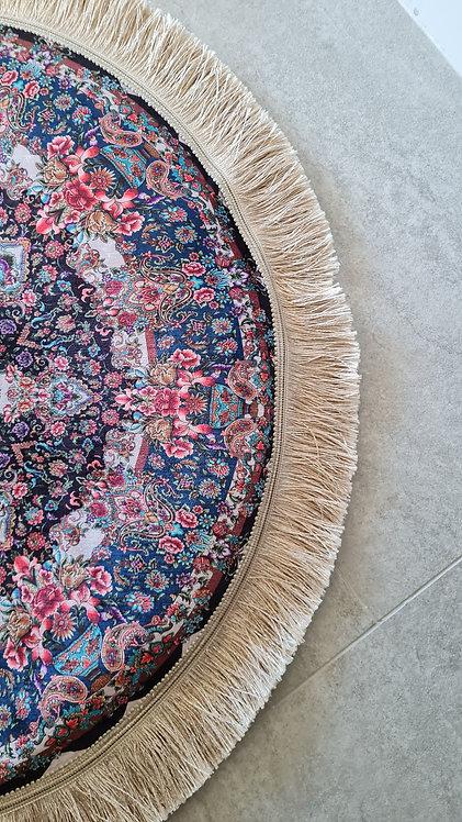 Splendor Round 50cm Mat with Fringing