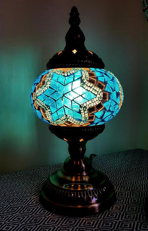 Turkish Morrocan Mosaic Stamd Lamp