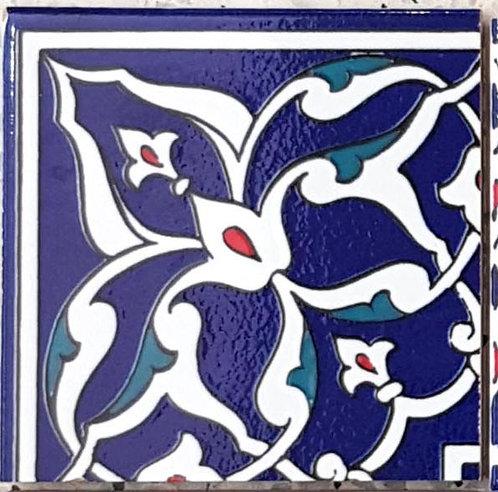 "Corner Tile ""Ankara"" 10cm x 10cm"