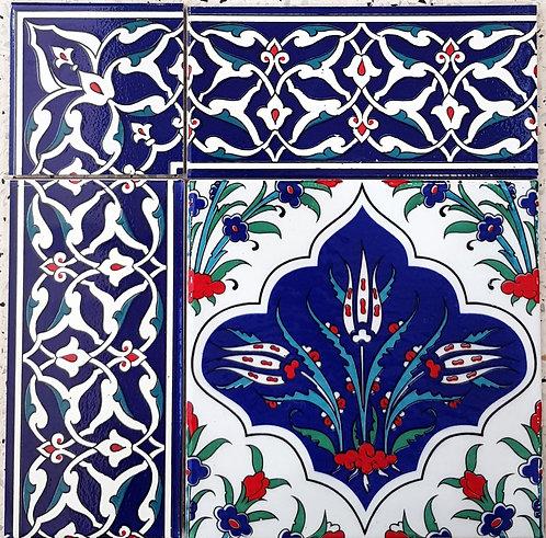 """Border Tile 20x10cm """"Ankara"""""""