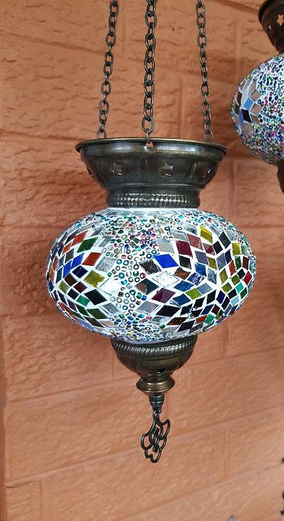 Large Hanging Tealight Turkish Morrocan Boho