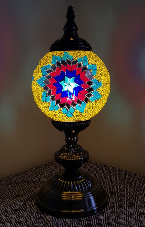Turkish Morrocan Mosaic Large Stand Lamp