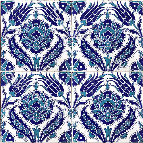 Tile 20x20cm BLUE NAR